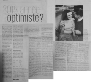 article presse 2018 année optimiste