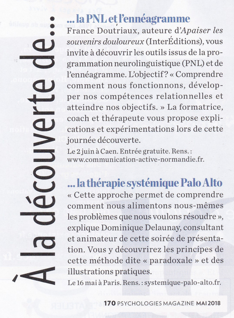 201805 LIVRE ARTICLE PSYCHOLOGIE MAGAZINE 170