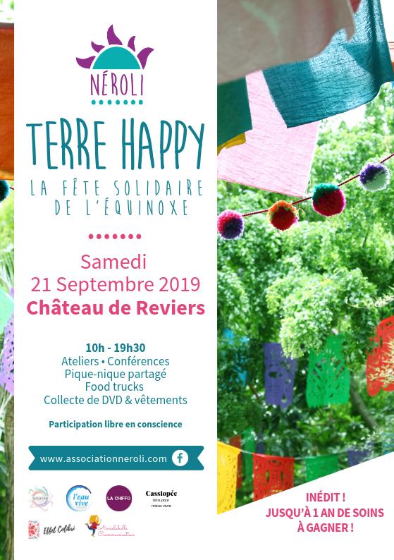 Néroli - Terre Happy - Samedi 21 septembre au Château de Reviers